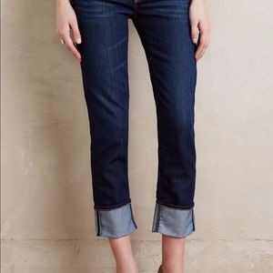 Perfect AG The Stevie Cuff Skim Straight Jean